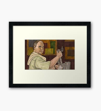 Beer Bad - Bar Owner - BtVS Framed Print
