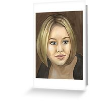 Wild at Heart - Veruca - BtVS Greeting Card