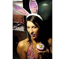Blood Sugar Bunny Photographic Print
