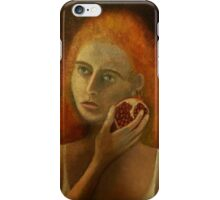 Persephone and the Pomegranate iPhone Case/Skin