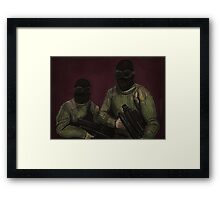 The Initiative - Commandos - BtVS Framed Print