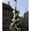Antwerp - Brabo fountain by Gilberte