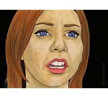 Something Blue - Willow - BtVS Photographic Print