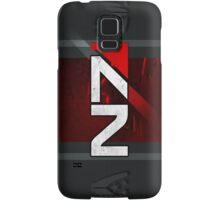 N7 sheild textured background Samsung Galaxy Case/Skin
