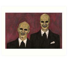 Hush - The Gentlemen - BtVS Art Print