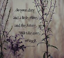Do a little more-inspiration by vigor
