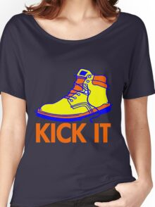 KICK IT Women's Relaxed Fit T-Shirt