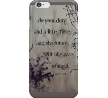 Do a little more-inspiration iPhone Case/Skin