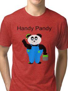 Handy Pandy Tri-blend T-Shirt