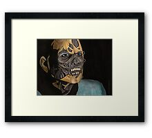 Hero - The Scourge - Angel Framed Print