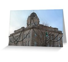 Deck the Court House Greeting Card