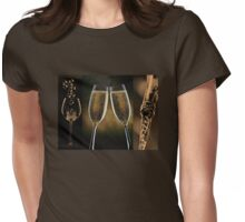 Golden Refreshment Womens Fitted T-Shirt