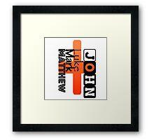 The original 4 Amigos!! Framed Print