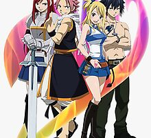 Team Fairy Tail by AlexKramer