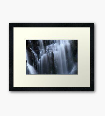 Silken Illuminance Framed Print