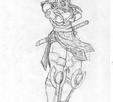 Taki Fuuma Sketch by JYC00kami