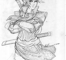 Taki Fuuma Sketch 02 by JYC00kami