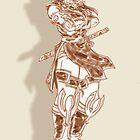 Taki Fuuma, Shinkawa style. by JYC00kami