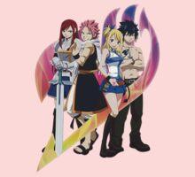 Team Fairy Tail Kids Clothes