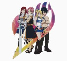 Team Fairy Tail Kids Clothes