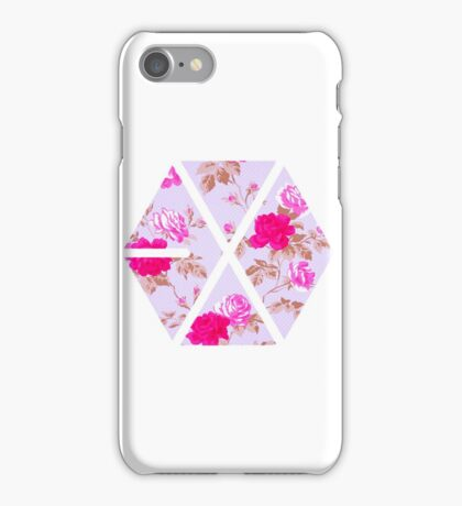 EXO - Floral iPhone Case/Skin