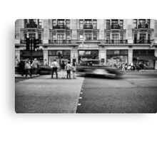 Rush hours. Canvas Print