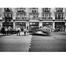 Rush hours. Photographic Print