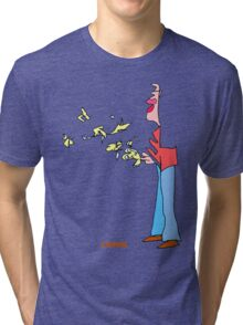 Bird Man Tri-blend T-Shirt