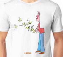 Bird Man Unisex T-Shirt