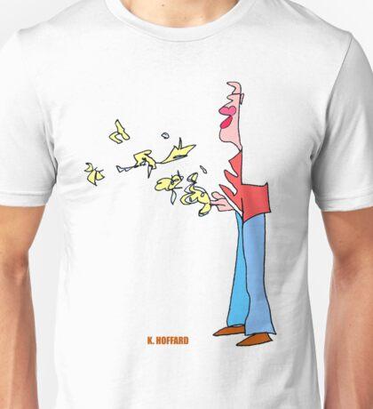 Bird Man Unisex T-Shirt