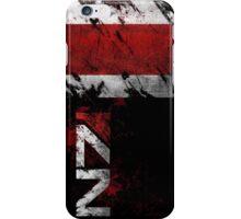Mass Effect N7 distressed iPhone Case/Skin