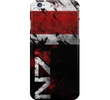 Mass Effect N7 distressed iPhone Case/Skin