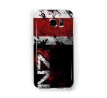 Mass Effect N7 distressed Samsung Galaxy Case/Skin