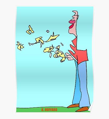 Bird Man Poster
