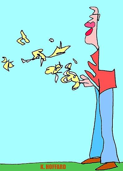 Bird Man by Hoffard