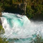 Huka Falls, Taupo  by Stephen  Duffy