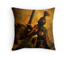 Sir Tristram Throw Pillow