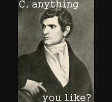 John C. Calhoun At His Finest Mens V-Neck T-Shirt