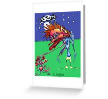 The Cow Jumped Over the Moon Greeting Card
