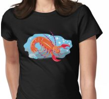 Lobster Womens Fitted T-Shirt