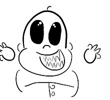 scary baby by jnwa