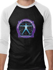 Quantum Physics Men's Baseball ¾ T-Shirt
