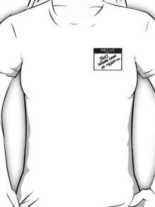 "Fight Club- "" I AM JACKS INFLAMED SENSE OF REJECTION T-Shirt"