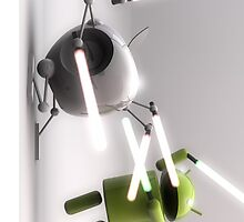 Android & Apple Lightsaber by zmayer