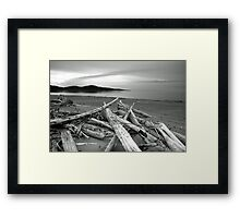 Mother Nature at Rest Framed Print