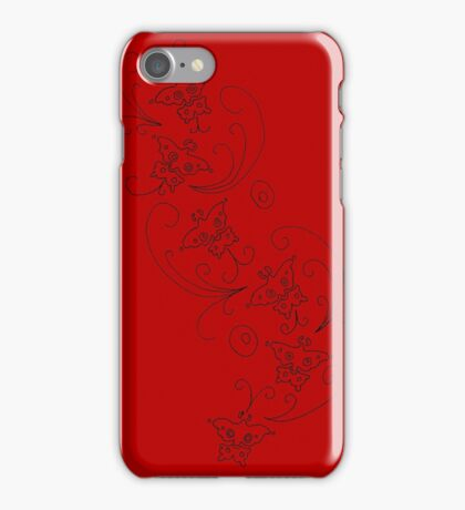 Ada Wong Butterflies iPhone Case/Skin