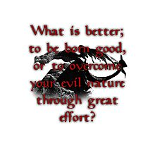Paarthurnax Wisdom Photographic Print