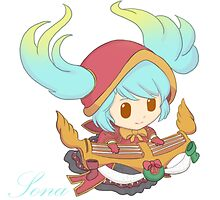 (Silent Night) Sona - Maven of the Strings League Of Legends by RogueMegatron
