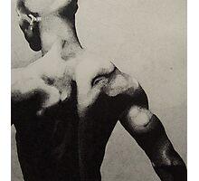 Black back Photographic Print
