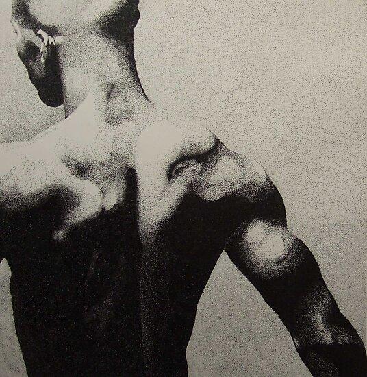 Black back by Bernadette Burke